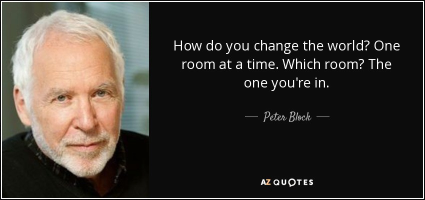 Image result for peter block